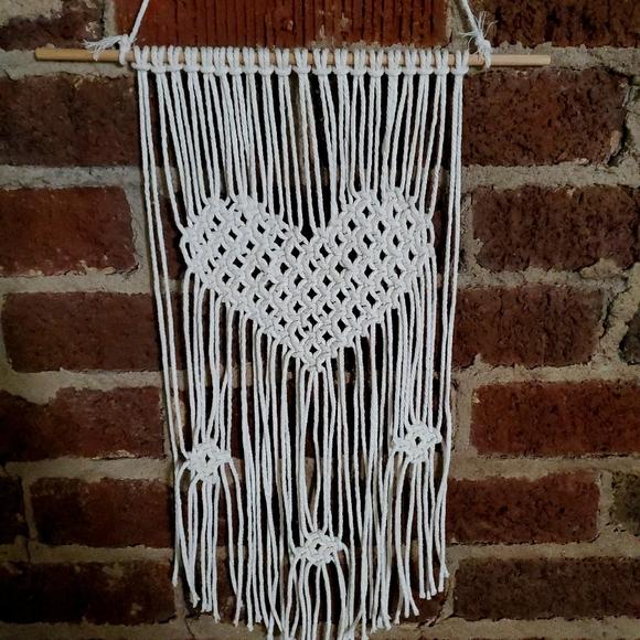 Heart wall hanger